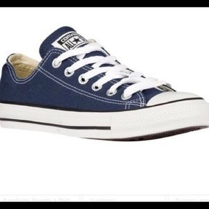 NWB Converse Low Top Navy Size 12